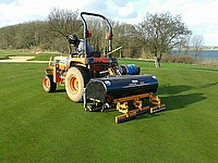 The Javelin Aer-Aid 1500 in action at Rutland Water Golf Club