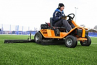 Leicester City FC Head Groundsman Ed Mowe has purchased a SISIS Brush-Pro for all of his regular routine synthetic surface maintenance.