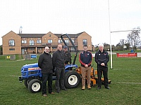 Twickenham Head Groundsman Keith Kent has chosen SISIS Mutitiner and Quadraplay system as part of the pitch maintenance package to RFU member clubs