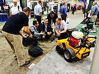 Dennis and SISIS returned to GIS 2014 in Orlando and reported a successful launch of two products as well as interest in the current range of turf mai