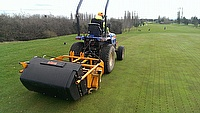 Jason Cooper, Head Greenkeeper at Leamington & Country Golf Club, has chosen to purchase a SISIS Rotorake TM1000 scarifier and SISIS Variseeder 1300 t