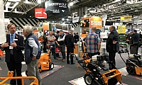 A busy SISIS stand at SALTEX 2018