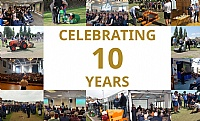 Celebrating 10 years of groundcare seminars with Dennis and SISIS.
