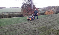 SISIS Auto-Rotorake MK5 in action with Topgrass