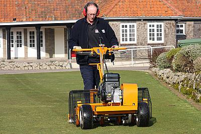 Compacted, waterlogged greens are now a thing of the past after a contractor invested in a SISIS Autoslit
