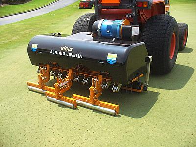 The Emerson Country Club in Sejong City, South Korea has recently purchased six SISIS Javelin Aer-Aid 1500 tractor mounted aerators