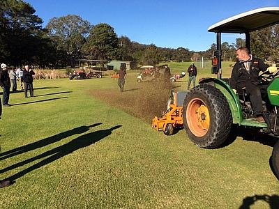 A series of demonstrations events were held at golf clubs in New South Wales