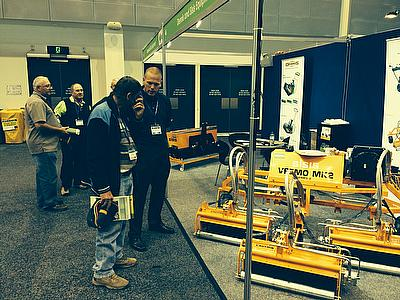 Dennis and SISIS have reported a successful Australian Turfgrass Conference Exhibition