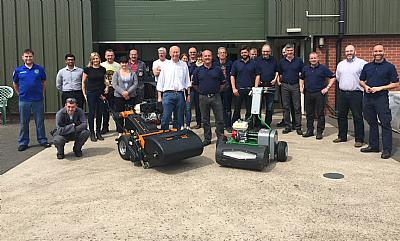 Andy Walker celebrates 40 years at SISIS