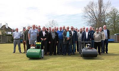 2018 Dennis and SISIS bowling green maintenance seminars finish in style