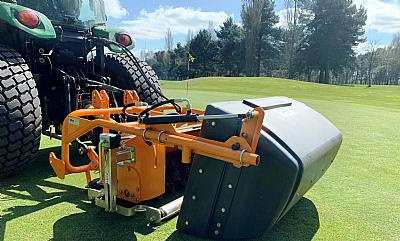 SISIS TM1000 Scarifier at Nornanby Hall